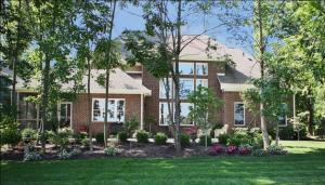 Beautifully Landscaped Custom Luxury Homes, Large Tree-Lined Lots, Built-In Sprinklers; Madison Custom Homes Inc., Indianapolis, Indiana
