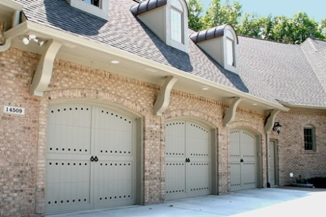 Central Indiana Luxury Home, Attached 3-Car Brick Garage, Custom Doors, Skylights - Madison Custom Homes Inc., Indianapolis
