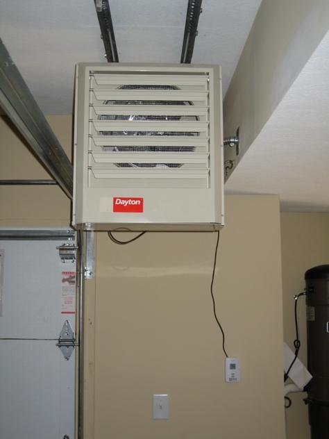 Infrastructure Detail: Dayton Garage Heater, Stay ...