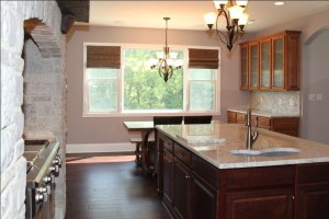 Kitchen of Custom Luxury Home by Madison Custom Homes Inc. - Central Indiana
