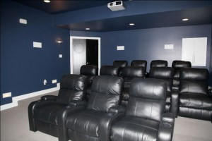 Home Theater, Bonus Room, Playroom, Office, Storeroom, Workout or Art Studio, Luxury Homes Built to Your Specifications, Indianapolis, Indiana, Boone / Hamilton / Madison / Marion / Morgan / Shelby County