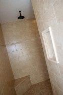 Master Bathroom, Walk-In Shower, Rain-Shower Head, Granite Tile / Bench, Custom Luxury Homes, Indianapolis, Indiana, Madison Custom Homes Inc.