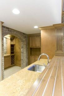 Basement Design Detail of Custom Luxury Home by Madison Custom Homes Inc. - Central Indiana