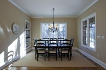 Dining Room of Custom Luxury Home by Madison Custom Homes Inc. - Central Indiana