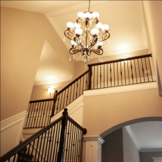 Foyer / Entry Hall of Custom Luxury Home by Madison Custom Homes Inc. - Central Indiana