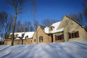 Stone / Brick Exterior, 3-Car Garage, Skylights, Window Shutters - Indianapolis, Indiana