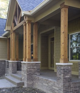 Exterior Design Detail of Custom Luxury Home by Madison Custom Homes Inc. - Central Indiana