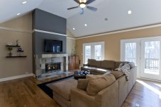 Great Room of Custom Luxury Home by Madison Custom Homes Inc. - Central Indiana