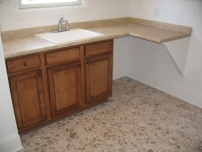 Laundry Room Utility Sink Counter, Under-Counter Storage Cabinets, Luxury Homes, Indianapolis, Indiana