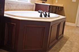Bathroom Design Detail of Custom Luxury Home by Madison Custom Homes Inc. - Central Indiana
