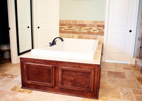 Bathroom of Custom Luxury Home by Madison Custom Homes Inc. - Central Indiana