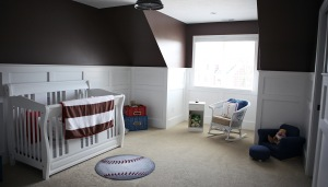 Baby's Bedroom of Custom Luxury Home