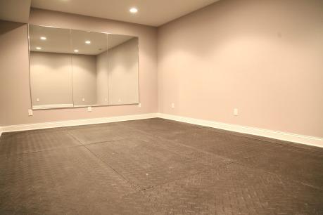 Bonus Room; Workout Room; Full Wall Mirror