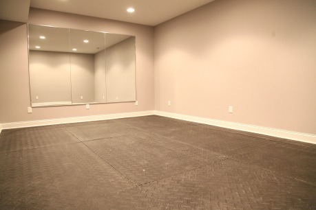 Bonus Room; Workout Room; Full Wall Mirror