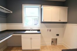 Laundry Room of Custom Luxury Home by Madison Custom Homes Inc. - Central Indiana