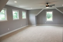 Bedroom of Custom Luxury Home by Madison Custom Homes Inc. - Central Indiana