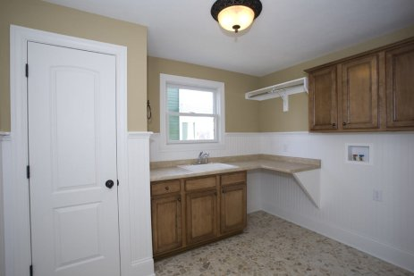 Laundry Room of Custom Luxury Home by Madison Custom Homes Inc. – Central Indiana