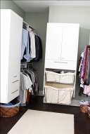 Walk-In Closet of Custom Luxury Home by Madison Custom Homes Inc. - Central Indiana