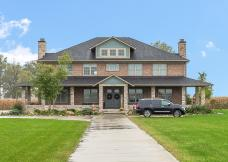 Exterior of Custom Luxury Home by Madison Custom Homes Inc. - Central Indiana