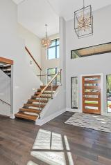 Staircase of Custom Luxury Home by Madison Custom Homes Inc. - Central Indiana