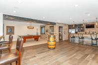 Lower Level of Custom Luxury Home by Madison Custom Homes Inc. - Central Indiana