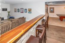Bar of Custom Luxury Home by Madison Custom Homes Inc. - Central Indiana