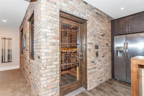 Wine Cellar of Custom Luxury Home by Madison Custom Homes Inc. - Central Indiana