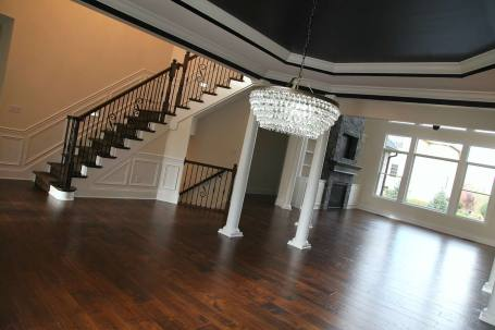 Dining Room of Central Indiana Custom Home built by Madison Custom Homes Inc.