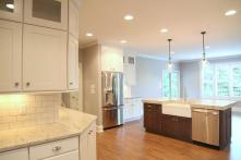 Kitchen in Custom Home in Central Indiana built by Madison Custom Homes Inc.