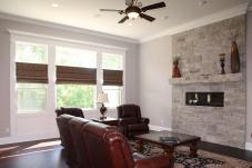 Great / Family Room of Central Indiana Custom Home built by Madison Custom Homes Inc.
